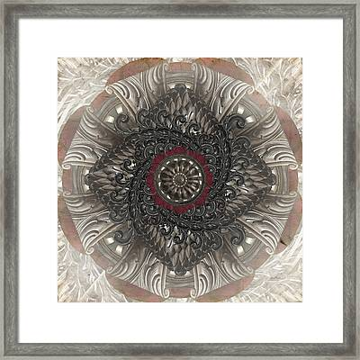 Fancy Framed Print by April Moen
