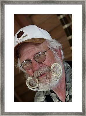 Fancy Beard Framed Print