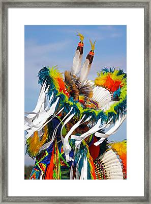Fancy Dancer Framed Print
