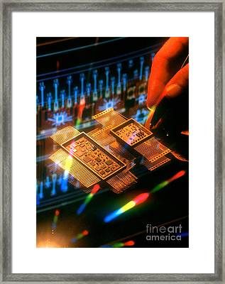 Fancy Design Framed Print by Jerry McElroy