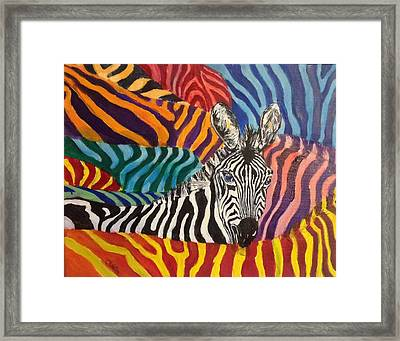 Fancy Dress? Framed Print by Chris Irwin Walker