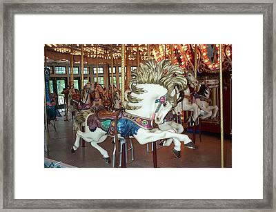 Framed Print featuring the photograph Fancy Flashy Pony -ri by Barbara McDevitt