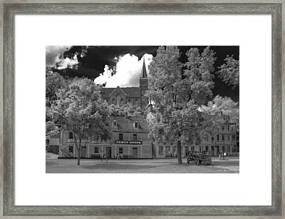 Fancy Goods Framed Print by Guy Whiteley