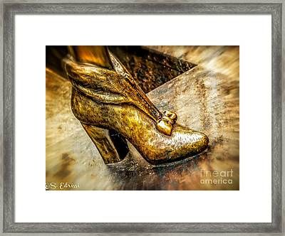 Fancy Shoe Framed Print
