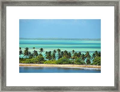 Fanning Island Framed Print