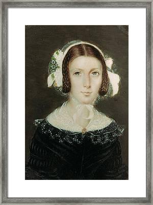 Fanny Brawne (1800-1865) Framed Print by Granger