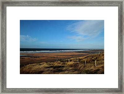 Fanore Beach Framed Print by Peter Skelton
