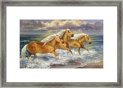 Fantasea Ponies Framed Print