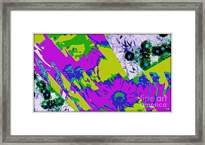 Fantasi Violaflori Framed Print by Halina Nechyporuk