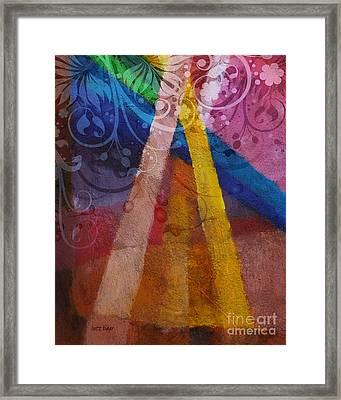 Fantasia Iv Framed Print by Lutz Baar