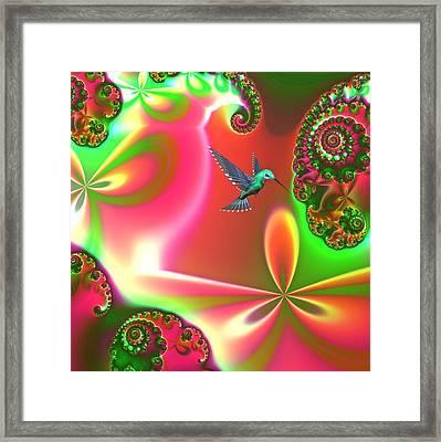 Fantasia Framed Print by Sharon Lisa Clarke