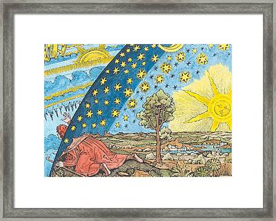 Fantastic Depiction Of The Solar System Framed Print