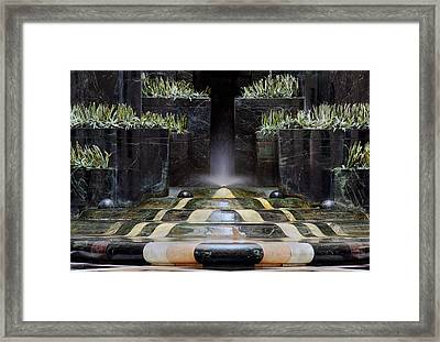 Framed Print featuring the photograph Fantastic Fountain by Glenn DiPaola