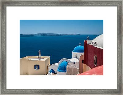 Fantastic World Framed Print