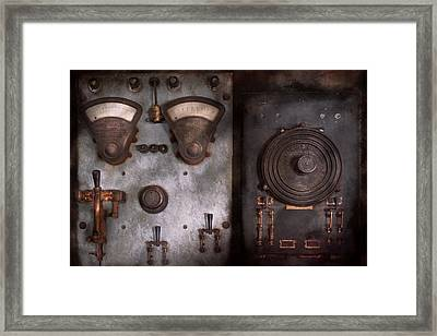 Fantasy - A Tribute To Steampunk Framed Print by Mike Savad