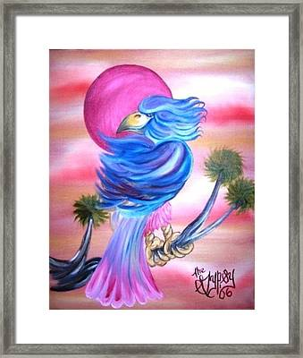 Fantasy Bird Framed Print