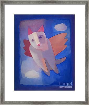 Fantasy Cat Framed Print