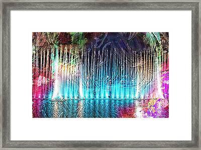 Fantasy City View Framed Print by Ian Gledhill