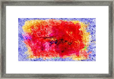 Fantasy Colors Framed Print