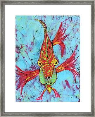 Fantasy Fish Framed Print