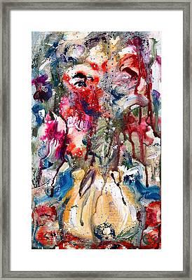 Fantasy Floral 2 Framed Print by Carole Goldman