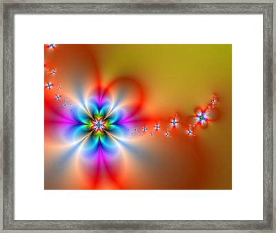 Fantasy Flowers 2 Framed Print by Ester  Rogers