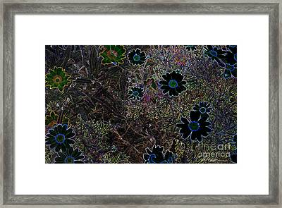 Fantasy Garden No. 1 Framed Print by Cathy Peterson