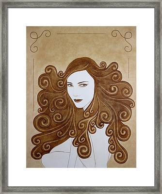 Fantasy I Framed Print by Lynet McDonald