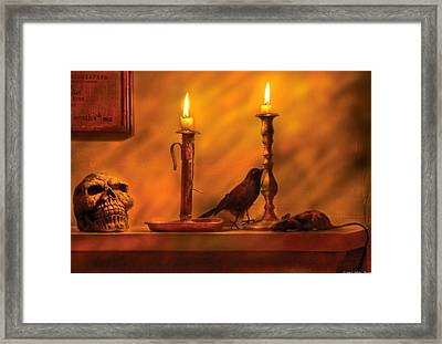 Fantasy - In A Wizard's House Framed Print