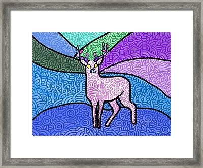 Fantasy In The Wild Framed Print