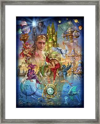 Fantasy Island Framed Print by Ciro Marchetti