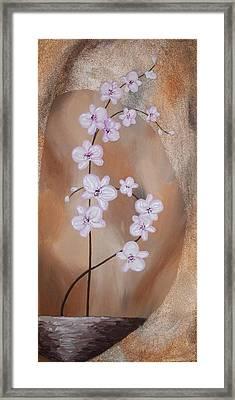 Fantasy Orchid I Framed Print by Mariya Kazarinova