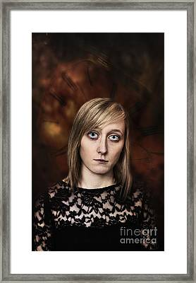 Fantasy Portrait Framed Print