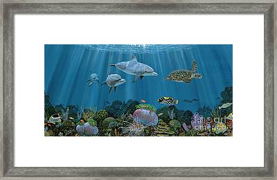 Fantasy Reef Re0020 Framed Print
