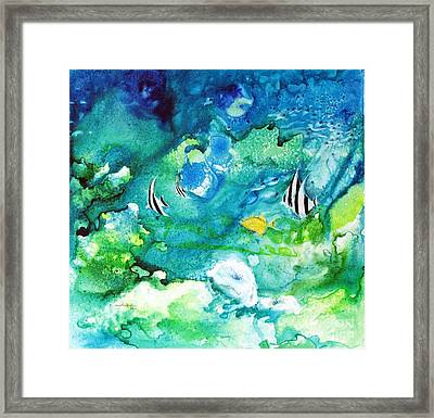 Fantasy Sea Framed Print