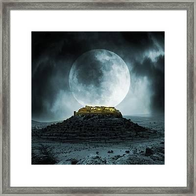 Fantasy Stronghold Framed Print