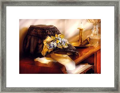 Fantasy - The Widows Bonnet  Framed Print by Mike Savad