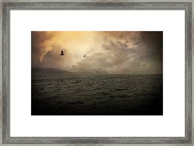 Far Apart Framed Print by Taylan Apukovska