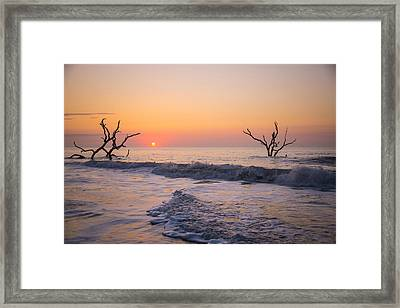 Far Away Framed Print by Serge Skiba