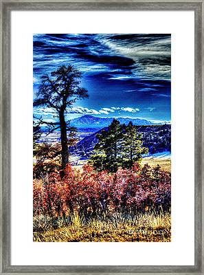 Far Away Framed Print