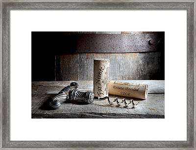 Far Niente On Silver Framed Print