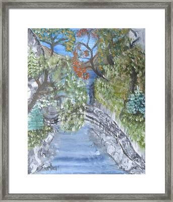 Far Off Place Framed Print