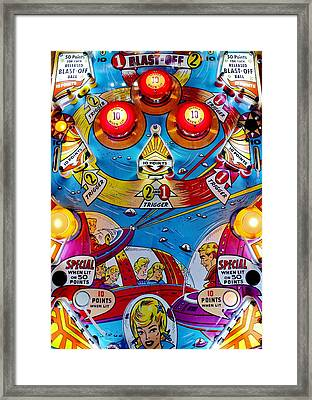 Far Out Playfield Framed Print by Benjamin Yeager