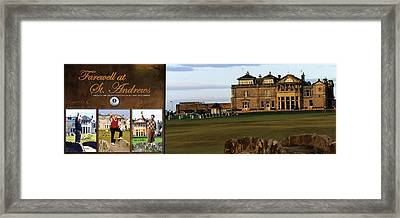 Farewell At St. Andrews Framed Print