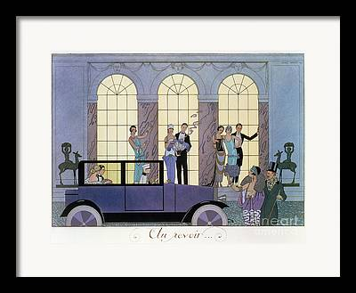 High Society Paintings Framed Prints