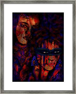 Farewell To Love Framed Print by Natalie Holland