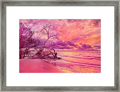 Farewell To The Day Framed Print by Betsy Knapp