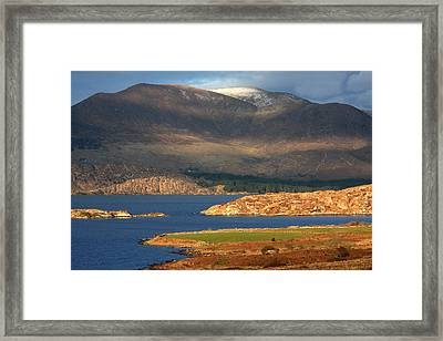 Farewell To Winter  Framed Print by Aidan Moran