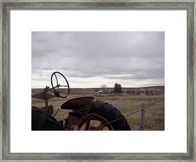 Farm Framed Print by Angela Stout