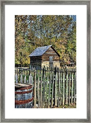 Farm Building Framed Print